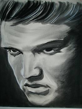 Elvis Presley by Morgan Greganti