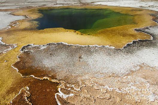 Sandra Bronstein - Emerald Pool - Yellowstone National Park