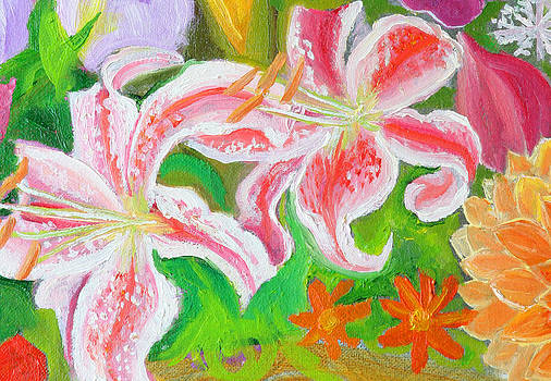 Anne Cameron Cutri - Enchantment lilies detail