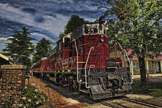 Engine Fifty Five by Boyd Alexander