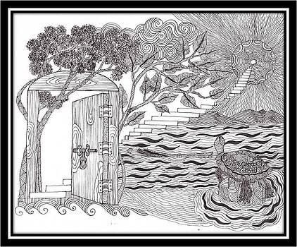 Engross the vastness by Wanphai Nongrum