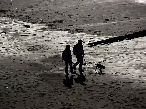 Enjoying The Beach by Sheila Renfro
