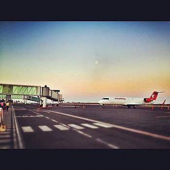 Estafeta #airport #plane #hdr #sunrise by Maura Aranda