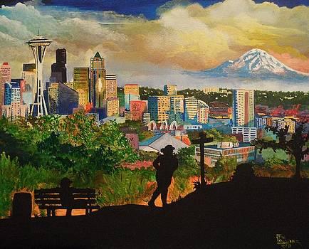 Evening Run by Tim Loughner
