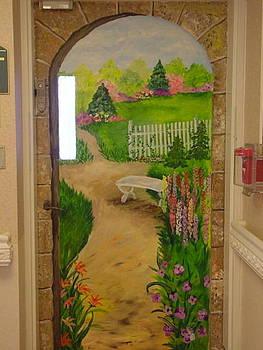 Exit Door 2 by Donna La Placa
