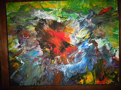 Explosion11 by Gilberte Figaroli