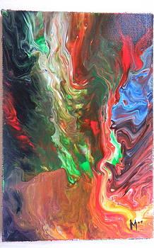 Explosion6 by Gilberte Figaroli