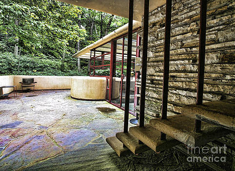Chuck Kuhn - Exterior Color Falling Water