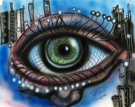 Jon Baldwin  Art - Eye