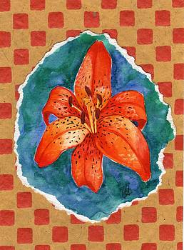 Fall Lily by Carrie Auwaerter