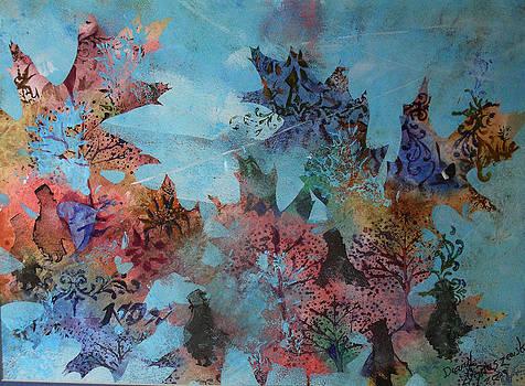 Fall Oaks by David Ignaszewski