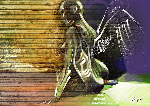 Fall Of The Angel by Alexandros Koumpios