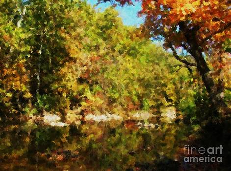 Fall on Swamp Creek by Denise Dempsey Kane