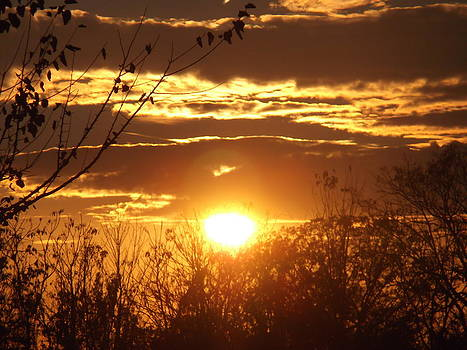 Fall Sunset by Heather Jett