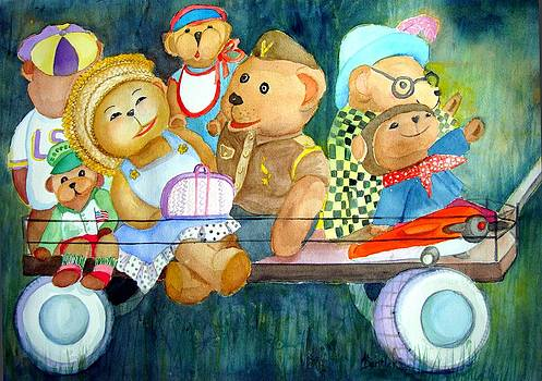 Family Vacation by AnnE Dentler