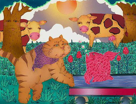 Fantasy and Cows by Dede Shamel Davalos