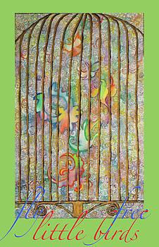 Anne Cameron Cutri - Fantasy Bird Cage Poster