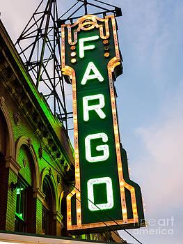 Paul Velgos - Fargo Theatre Marquee at Night Photo