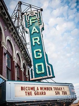 Paul Velgos - Fargo Theatre Sign Photo