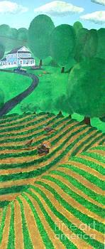Farm Scene 2 by Erin Mikels