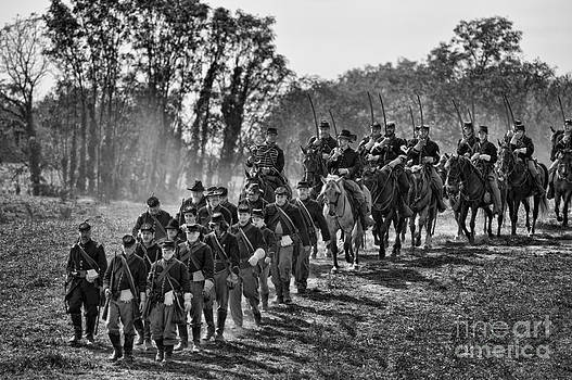 Federal Cavalry by Alan Crosthwaite