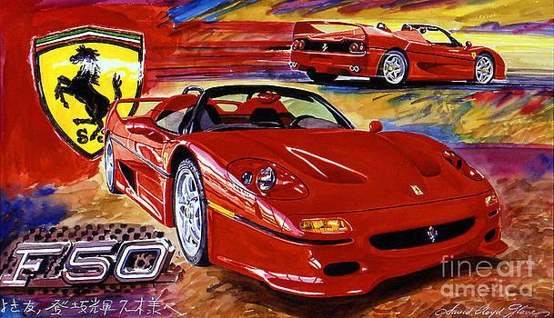 David Lloyd Glover - Ferrari F50