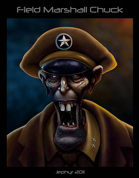 Field Marshall Chuck by Jephyr Art