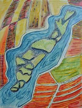 Fields River Islands by Bob Rowell