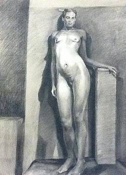 Figure Study no1 by Julie Orsini Shakher
