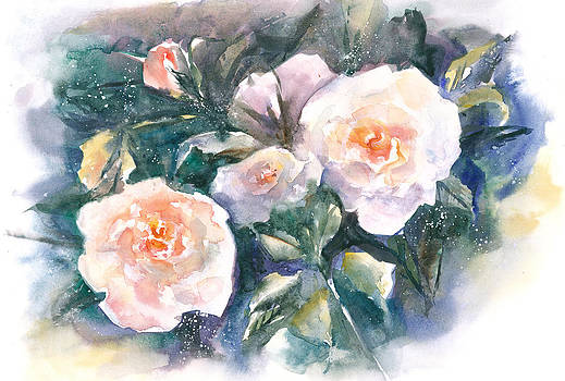 Fine Roses by Jitka Krause
