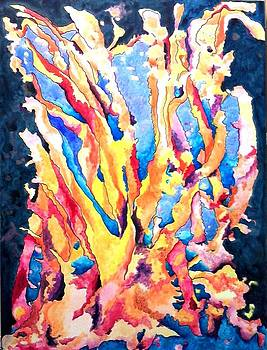 Fire Coral by Vicky Shaffer White