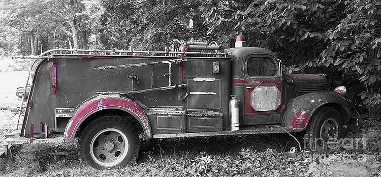 Fire Engine-Retired by Charleen Treasures