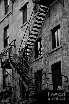 Fire Escape by Kayla Mackay