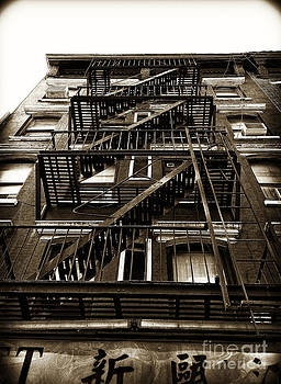 Fire Escape by Thanh Tran
