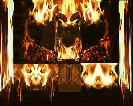 Fire Faces by Janet Kearns