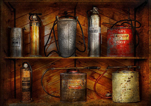 Mike Savad - Fireman - Fire Control