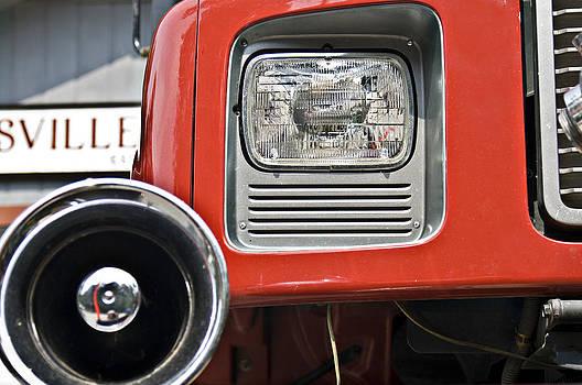 Firetruck Light and Horn by Susan Leggett