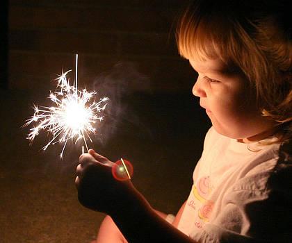 First Sparkler by Monica Lahr