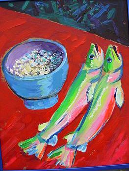 Fish And Rice by Thomas OMara