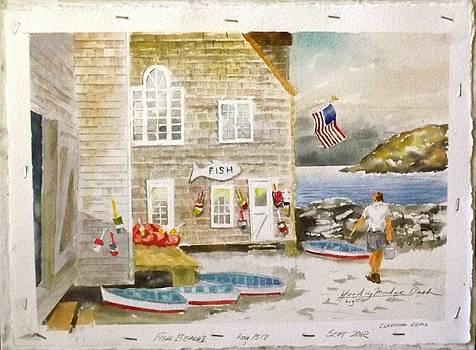 Fish Beach II Log#1517 by Harding Bush