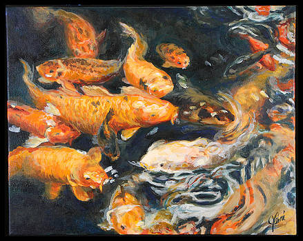 Fish Frenzy by Jami Childers