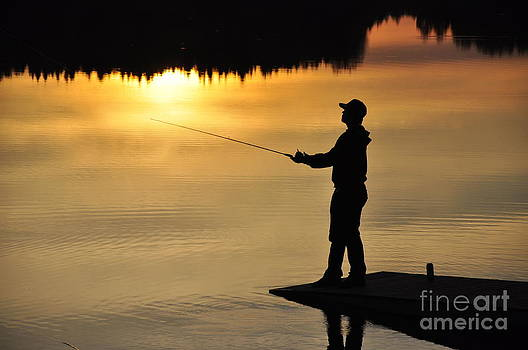 Fisherman by Conny Sjostrom