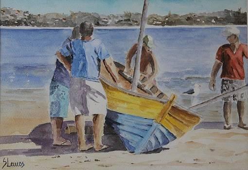 Fishermen by Silvia Lemos