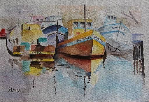Fishing boats by Silvia Lemos