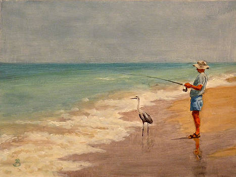Fishing Friends by Joe Bergholm