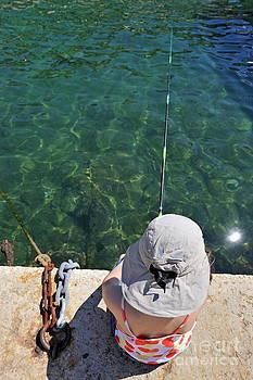 Sami Sarkis - Fishing from wharf