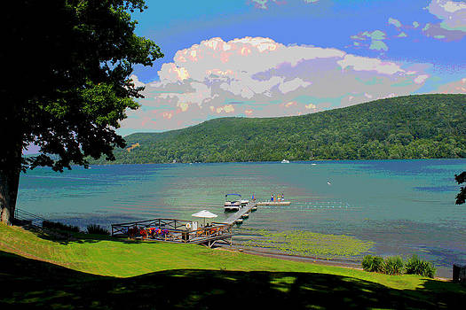 Fishing In Otsego by Bob Whitt