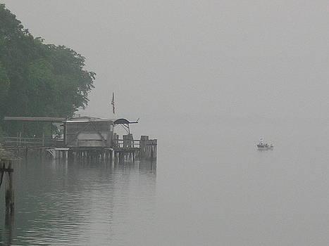 Randy J Heath - Fishing in the early morning