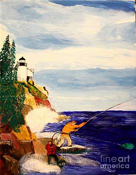 Bill Hubbard - Fishing the Bass Hole