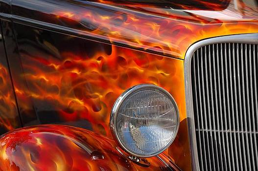 Flamin' Chrome by Heather Lee